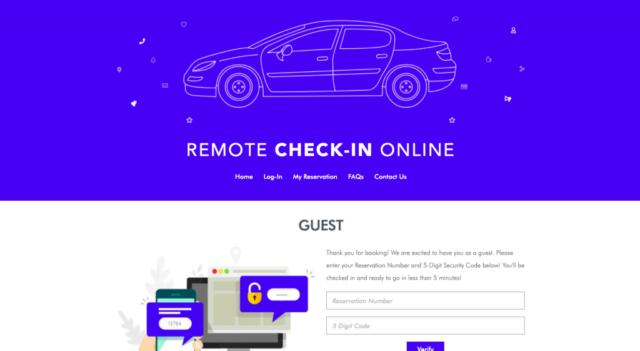 Remote Check in